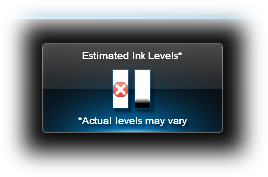 C5250 sw Color Refill Fail_est ink levels