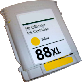 HP 88 cartridge on white_3