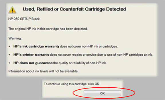 http://inkjet411.com/wp-content/uploads/2013/04/Used-Refilled-Counterfeit-Cartridge-Detected_HP-932-950s-1st-pop-up-message_3_sm.jpg