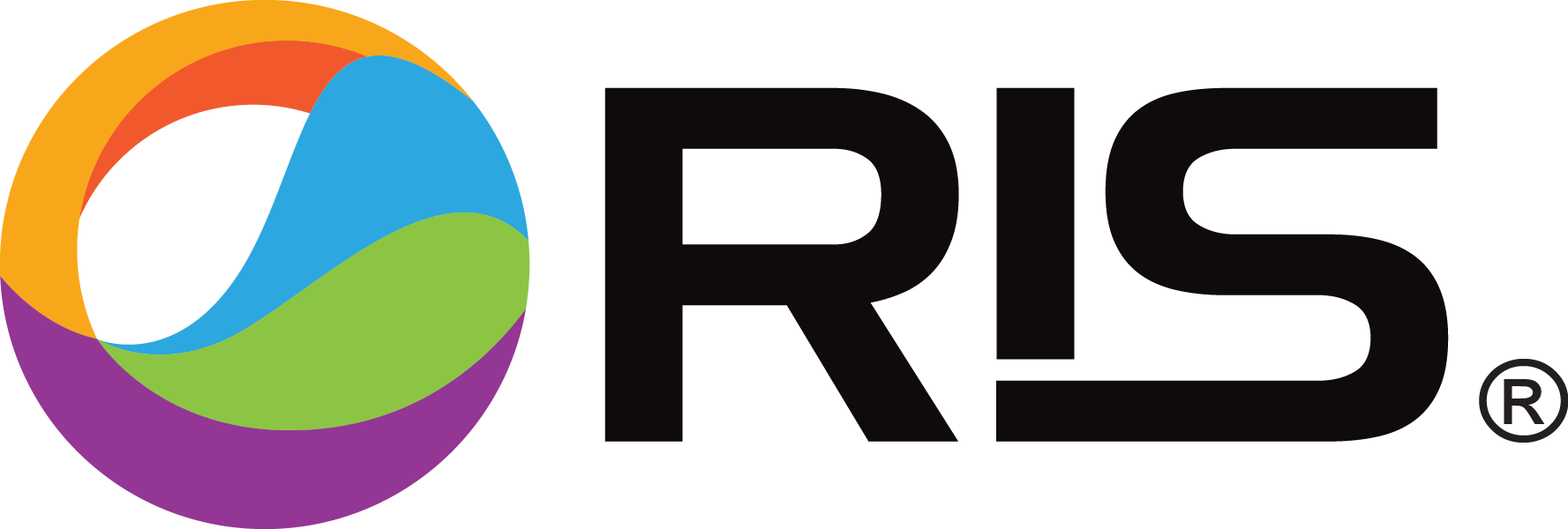 RIS Logo with Text and Registerd Trademark v2