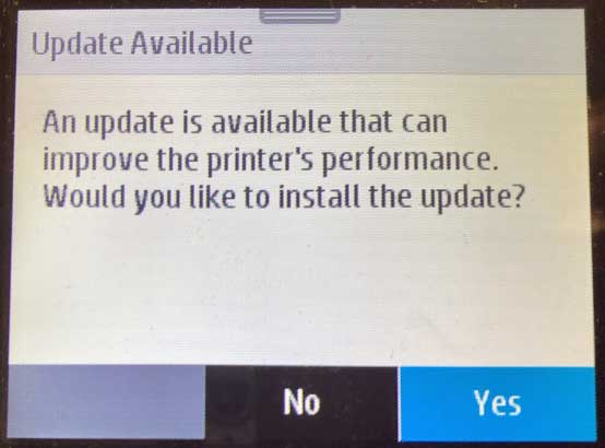 HP 902, 902XL Cartridges: Printer Firmware Lock-Out (Bypass